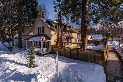 Coeur D'alene Single Family Home For Sale: 704 E Wallace Ave