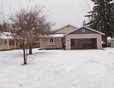 Sandpoint Single Family Home For Sale: 1015 Spruce St