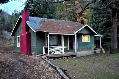 Shoshone County Single Family Home For Sale: 2237 Old River Rd