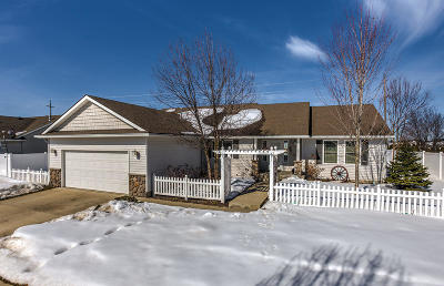 Coeur D'alene Single Family Home For Sale: 4255 W Wirth Dr