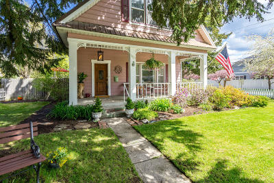 Coeur D'alene Single Family Home For Sale: 1027 E Indiana Ave