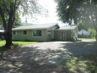 Priest River Single Family Home For Sale: 124 Kaniksu St
