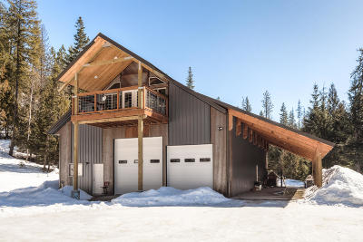 Sandpoint Single Family Home For Sale: 3529 Wrenco Loop