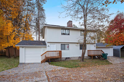Coeur D'alene Multi Family Home For Sale: 2009 N 14th St
