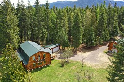 Clark Fork Single Family Home For Sale: 83 West Cabinet Wagon Road