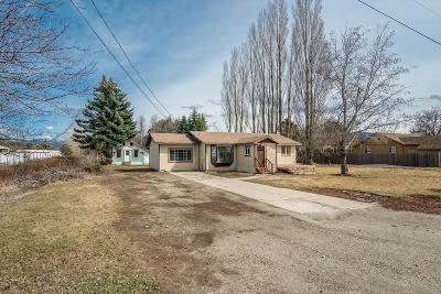 Sandpoint Single Family Home For Sale: 1806 Culvers Dr