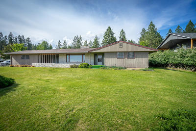 Coeur D'alene Single Family Home For Sale: 1658 N Johnson Rd