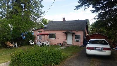 Plummer Single Family Home For Sale: 1230 D St