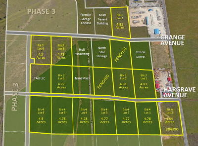 Post Falls Residential Lots & Land For Sale: L1B3 Hargrave Ave