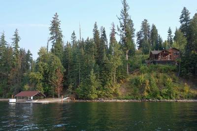 Hayden, Hayden Lake Single Family Home For Sale: 6667 E Yellowbanks Rd