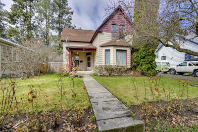 Coeur D'alene Single Family Home For Sale: 923 N 6th St