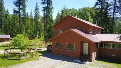 Sandpoint Single Family Home For Sale: 219 Caribou Creek Rd
