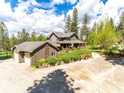 Hayden, Hayden Lake Single Family Home For Sale: 37442 E Hayden Lake Rd
