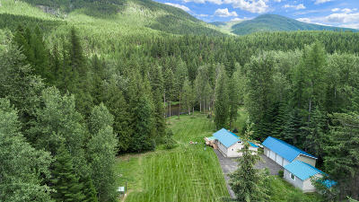 Bonners Ferry Single Family Home For Sale: 566 Timberlane