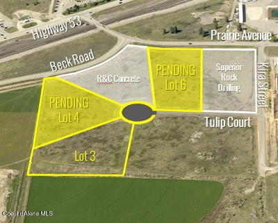 Hauser, Post Falls Residential Lots & Land For Sale: L3B1 W Tulip