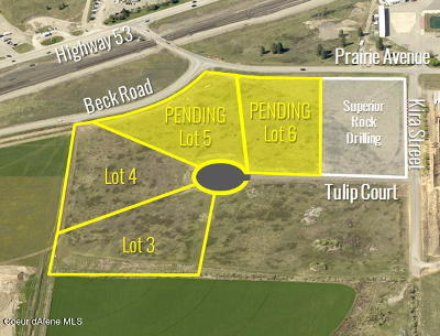 Hauser, Post Falls Residential Lots & Land For Sale: L4B1 W Tulip Ct