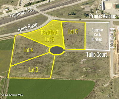 Hauser, Post Falls Residential Lots & Land For Sale: L6B1 W Tulip Ct