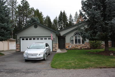 Rathdrum Single Family Home For Sale: 5260 W Broken Tee Rd