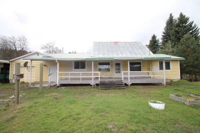 St. Maries ID Single Family Home For Sale: $52,000