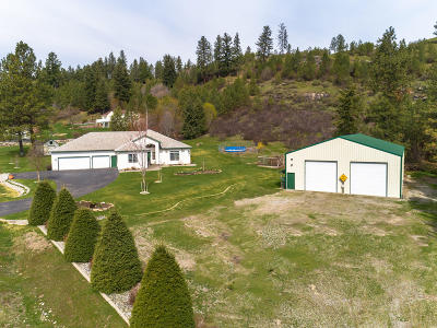 Rathdrum Single Family Home For Sale: 14151 W Hoyt Rd
