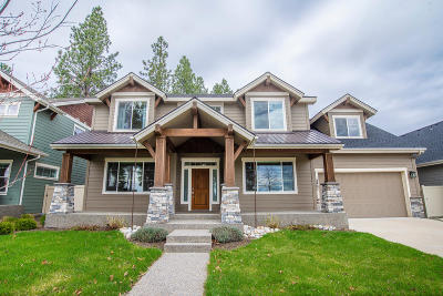 Coeur D'alene Single Family Home For Sale: 2407 W Moselle Dr