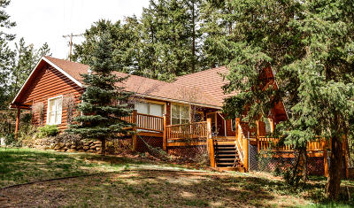 Coeur D'alene Single Family Home For Sale: 6498 E French Gulch Rd