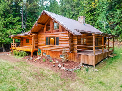 Sandpoint Single Family Home For Sale: 414 Gold Creek Ln