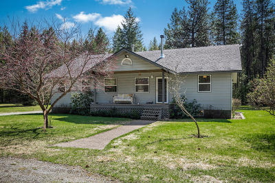 Oldtown Single Family Home For Sale: 5504 Old Priest River Rd