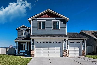 Post Falls Single Family Home For Sale: 3107 E Bogie Dr