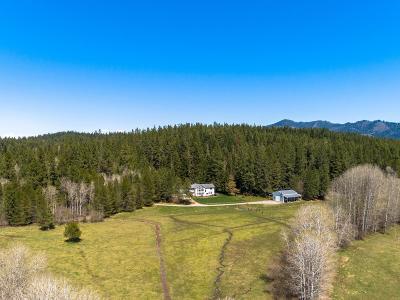 Hayden, Hayden Lake Single Family Home For Sale: 15602 N Rimrock Rd
