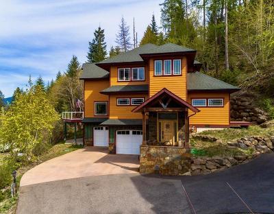 Hayden Single Family Home For Sale: 2462 E Upper Hayden Lake Rd