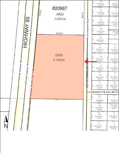Hayden Residential Lots & Land For Sale: 12115 N Government Way