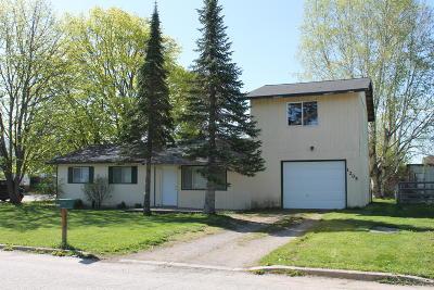 Sandpoint Single Family Home For Sale: 1205 Garden