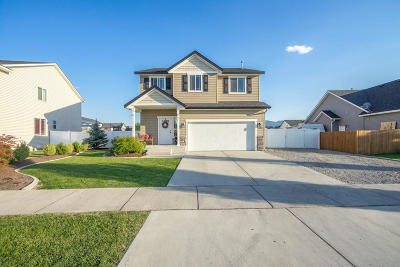 Post Falls Single Family Home For Sale: 1692 E Warbler Ln