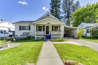 Coeur D'alene Single Family Home For Sale: 1320 E Pennsylvania Ave