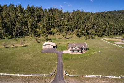 Rathdrum Single Family Home For Sale: 22934 N Ranch View Dr