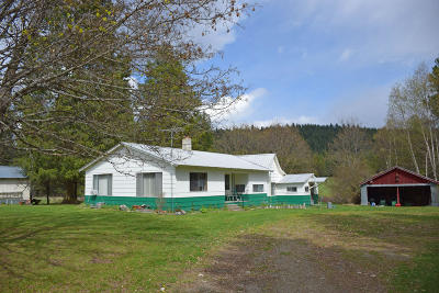 Bonners Ferry Single Family Home For Sale: 512255 Hwy 95