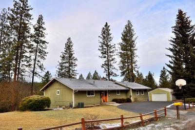 Spokane Single Family Home For Sale: 16025 N Rainbow Dr