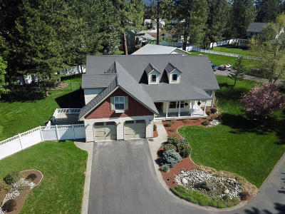 Hayden, Hayden Lake Single Family Home For Sale: 258 E Lacey Ave