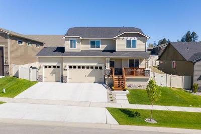 Coeur D'alene, Dalton Gardens Single Family Home For Sale: 3323 W Peartree Rd