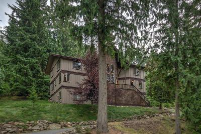 Hayden Single Family Home For Sale: 4546 E Upper Hayden Lake Rd