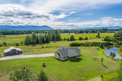 Sandpoint Single Family Home For Sale: 2500 Selle Rd