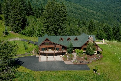 Coeur D'alene Single Family Home For Sale: 5835 S Miller Rd