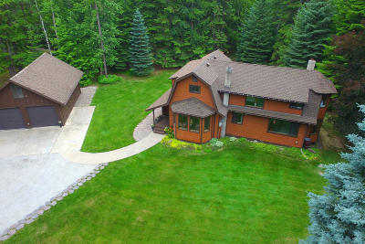 Sandpoint Single Family Home For Sale: 1478 Upper Pack River Rd