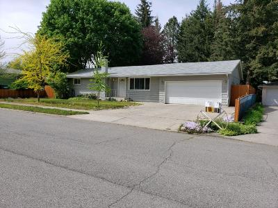 Coeur D'alene Single Family Home For Sale: 1115 E Homestead Ave