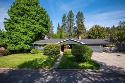 Coeur D'alene Single Family Home For Sale: 209 N Bruce Rd