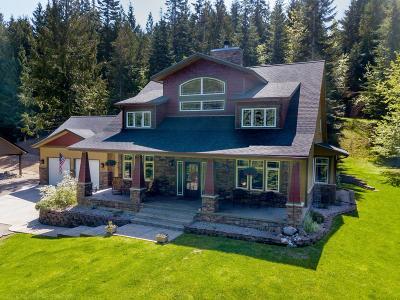 Hayden Single Family Home For Sale: 4728 E Hayden Lake Rd