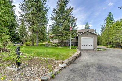 Rathdrum Single Family Home For Sale: 21701 N Ranch View Dr
