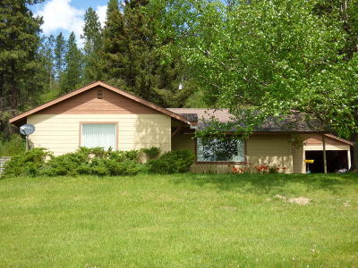 Bonners Ferry Single Family Home For Sale: 6731 Kalispell St