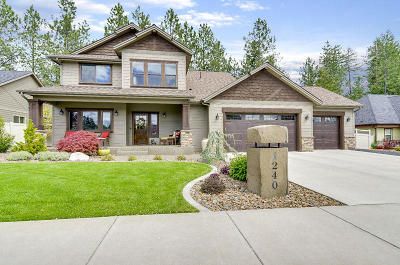 Hayden Single Family Home For Sale: 1240 E Maroon Creek Dr